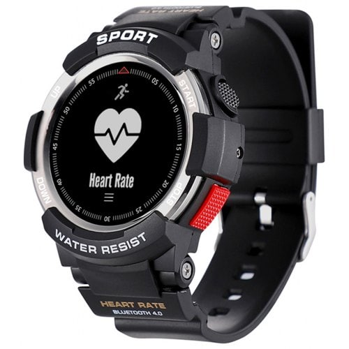 NO.1 F6 Smart Watch Waterproof Sleep Monitor 0.96inch OLED Sports Smartwatch Android and iOS Compatible