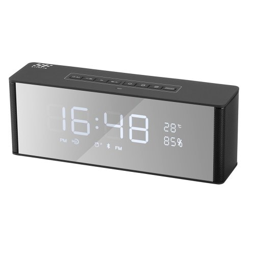 Siroflo LP-06 Bluetooth Speaker Alarm Clock With Three Levels Dimmer Control
