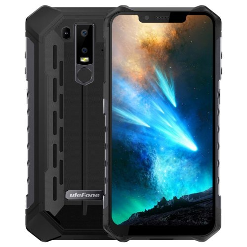 Ulefone Armor 6 4G Smartphone NFC Waterproof 6.2″ 128GB Rugged Outdoor Smartphone
