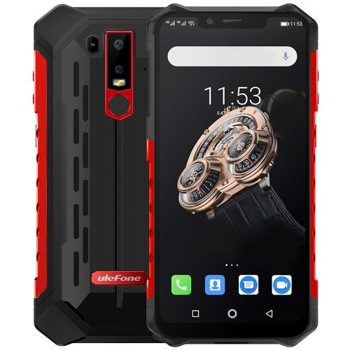 Ulefone Armor 6S Smartphone Waterproof 6.2″ 6GB RAM+ 128GB ROM Wireless Charge 5000mAh Battery Phablet