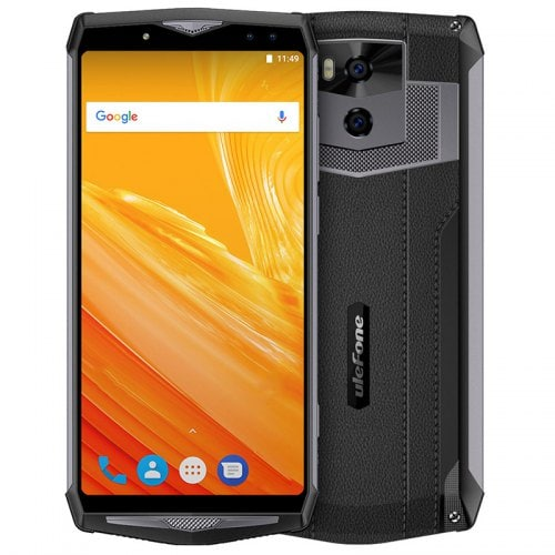 Ulefone Power 5 Smartphone 6.0″ Really Big Capacity Battery 13000mAh Wireless Charge 6GB RAM 64GB ROM Android 8.1 Fingerprint Sensor Phablet