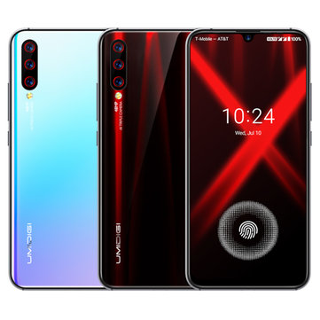 UMIDIGI X Global Bands 6.35 inch AMOLED 48MP Triple Rear Camera 4150mAh NFC 4GB 128GB Helio P60 Octa Core 4G Smartphone