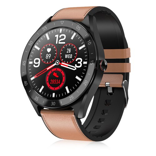 Alfawise Watch 6 Smart Watch Sports Modes Brown