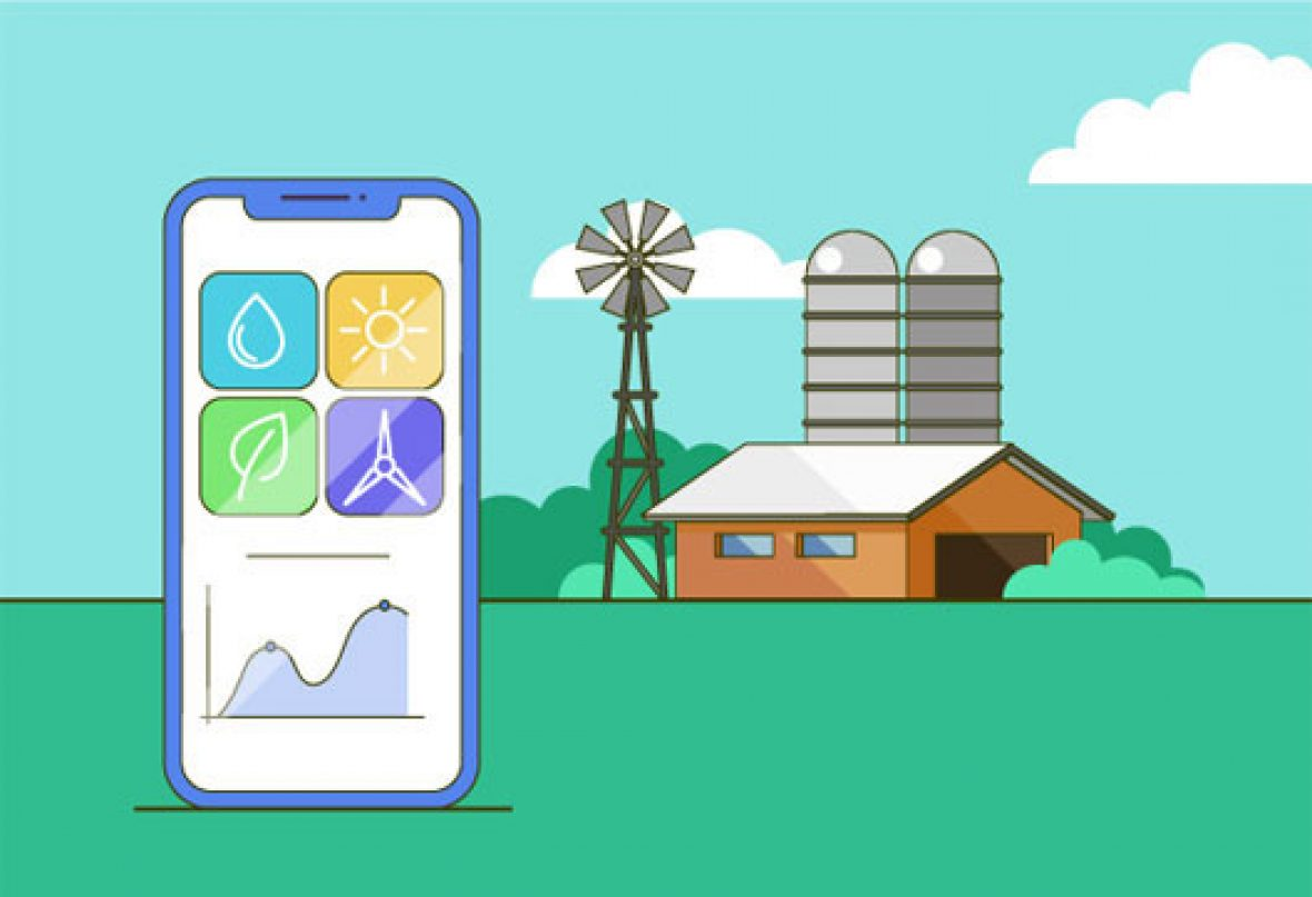 best application development for agriculture