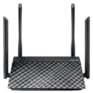 ASUS RT - AC1200GU AC1200M Smart WiFi Home Router - Black