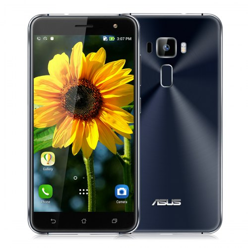 ASUS Zenfone 3 5.5 inch FHD Sapphire Black Smartphone, Model ZE552K
