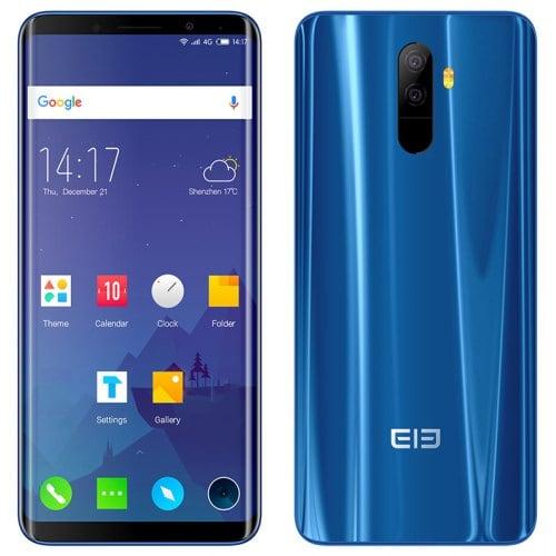 Elephone U 4G Phablet - Blue 6GB RAM + 128GB ROM
