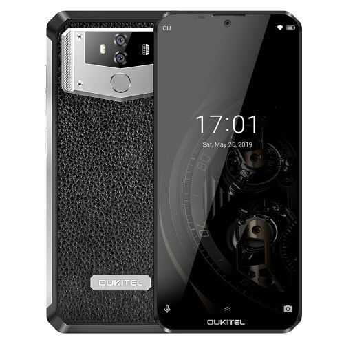 OUKITEL K12 4G Phablet 6.3 inch Water Drop Screen Android 9.0 - Black