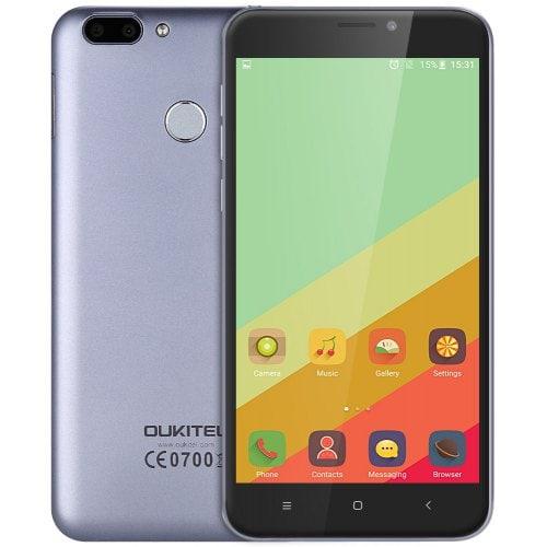 OUKITEL U20 Plus 4G Phablet Gray