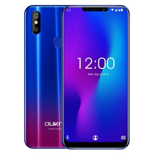 OUKITEL U23 4G Smartphone 6.18 Inch FHD+ Screen 3500mAh 64GB