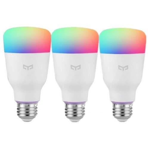 Xiaomi Amazon Alexa E27 10W RGBW Smart LED Bulb 3 PCS