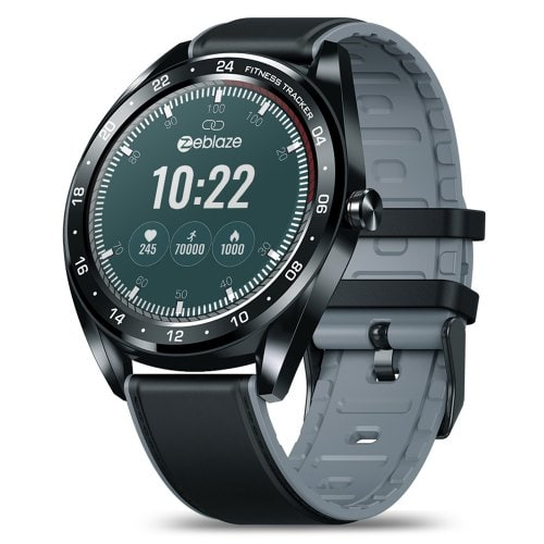 Zeblaze NEO Touch Screen Smart Watch With Silicone And Leather Band Versions
