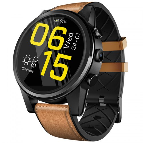 Zeblaze Thor 4 Pro Smart Watch Phone Built-in GPS 4G Wifi 1.6 inch LTPS Crystal Display