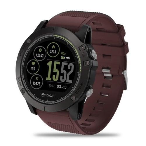 Zeblaze VIBE 3 HR Smartwatch Waterproof IPS Color Display Rugged Inside Out Sports Watch