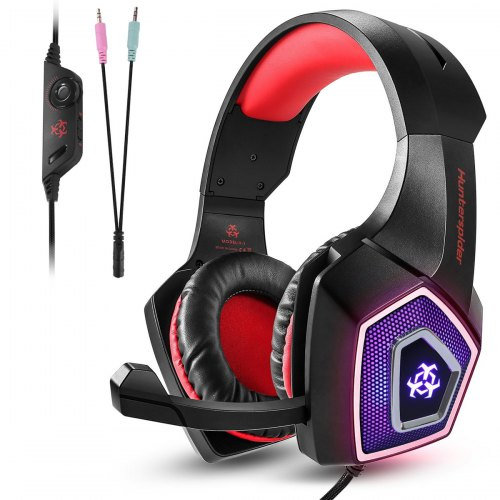Excelvan 3.5mm Gaming Surround Stereo Headphones