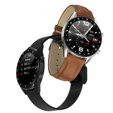 Bakeey M9 Ultra Thin Full Round Display Music Control Smartwatch