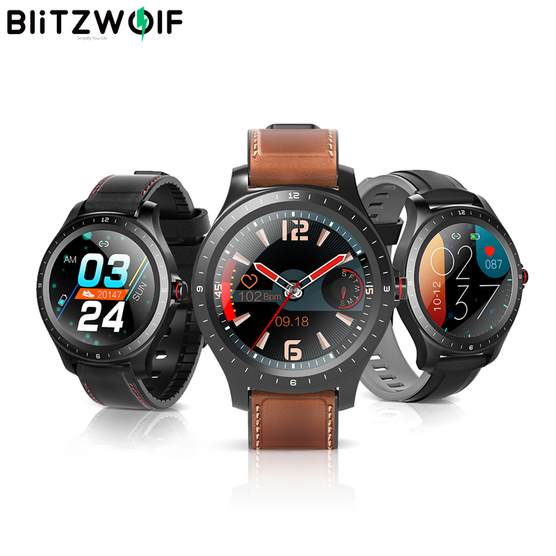 BlitzWolf BW-HL2 Smart Watch 1.3′ Full Round Touch Screen Smartwatch