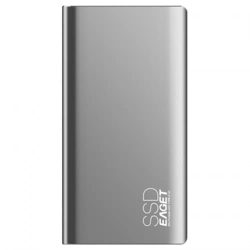 EAGET M1 Type-C USB3.1 256GB Portable SSD Solid State Drive
