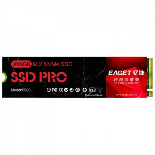 EAGET S900L 512GB SSD Solid State Drive PCIE M.2 NVME
