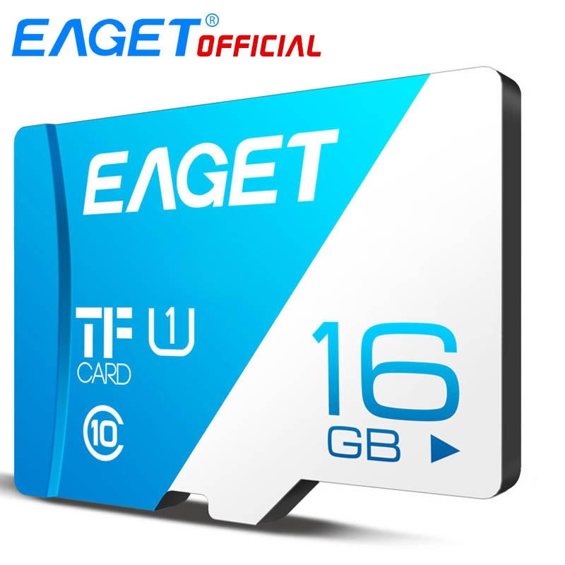 EAGET T1 TF Card High Speed UHS-I Memory Card 16GB/32GB/64GB/128GB