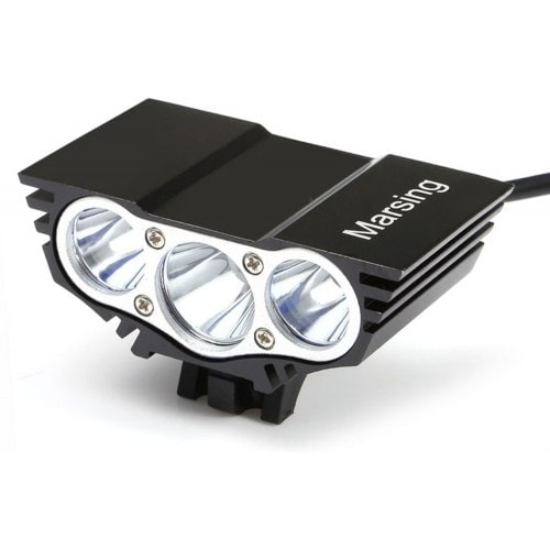 Marsing X3 LED Bicycle Light Set 3 Mode for Night Cycling
