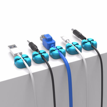 ORICO CBS7 Multifunctional Desktop Cable Organizer Silicone Wire Holder