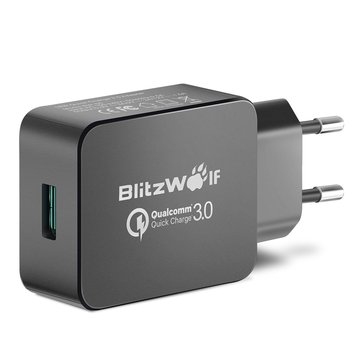 BlitzWolf BW-S5 QC3.0 18W USB Adapter (Qualcomm Certified)