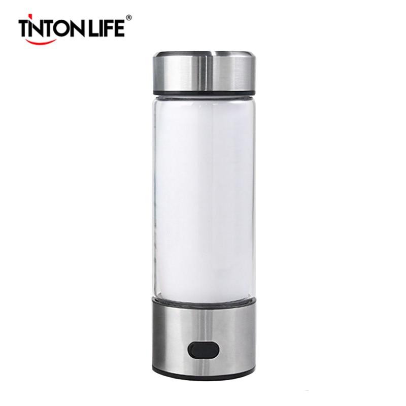 Tinton Life Hydrogen Water Generator Portable Water Ionizer