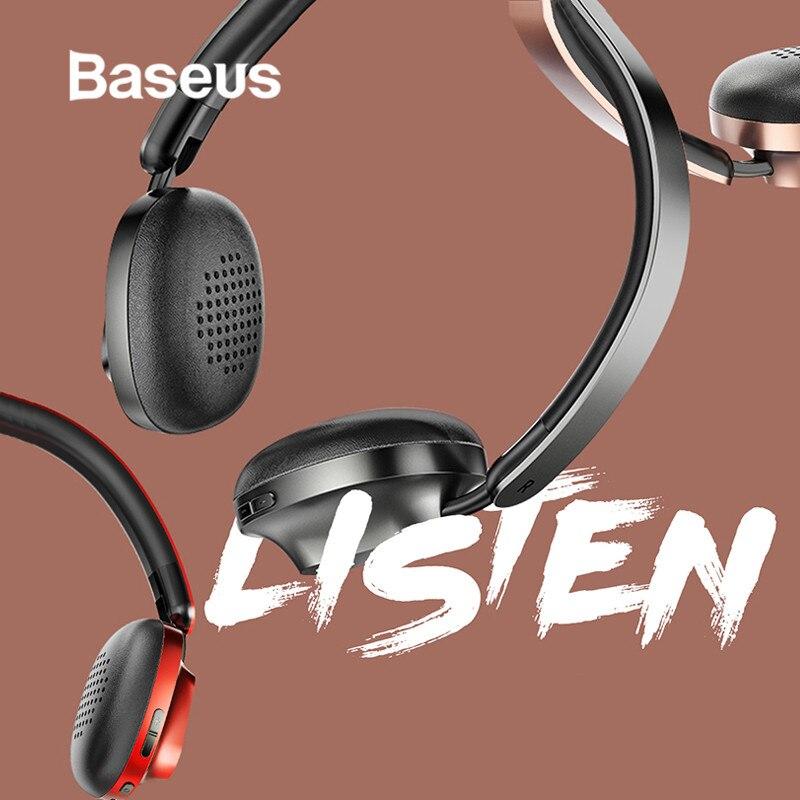 Baseus Encok D01 HiFi Wireless Foldable Bluetooth Stereo Headphone