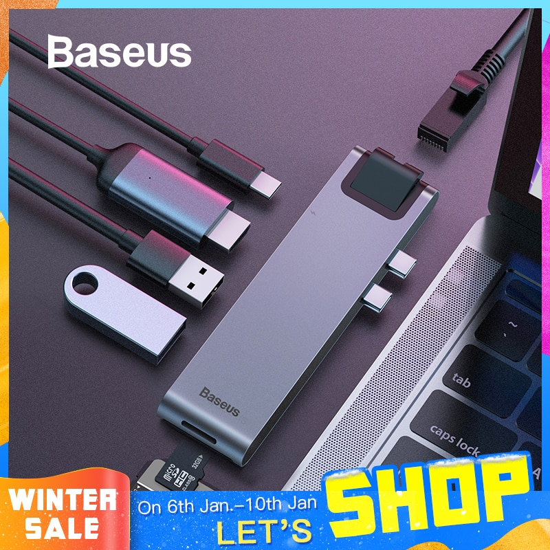 Baseus All in One Type-C Hub Smart Docking Station for MacBook