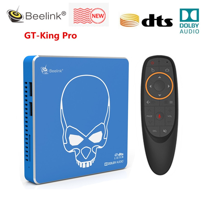 Beelink GT-King Pro Hi-Fi Sound 4K TV Box Voice RC 4GB DDR4 + 64GB