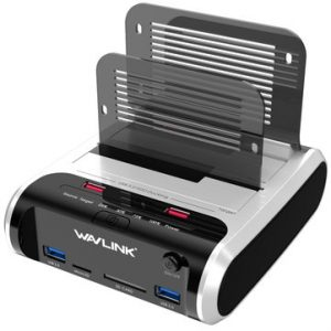 Wavlink USB3.0 to SATA Dual-Bay HDD Enclosure