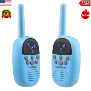 FLOUREON 9 Channel Twins Walkie Talkies Long Range for Outdoor Camping