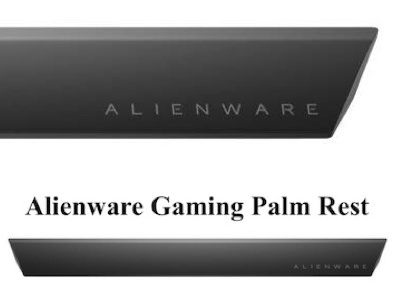 Dell Alienware Gaming Palm Rest AW168 Magnetic Connection with The Keyboard
