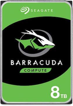 Seagate BarraCuda Pro 8TB HDD 3.5 Inch SATA 6 Gb/s 7200 RPM 256MB Cache