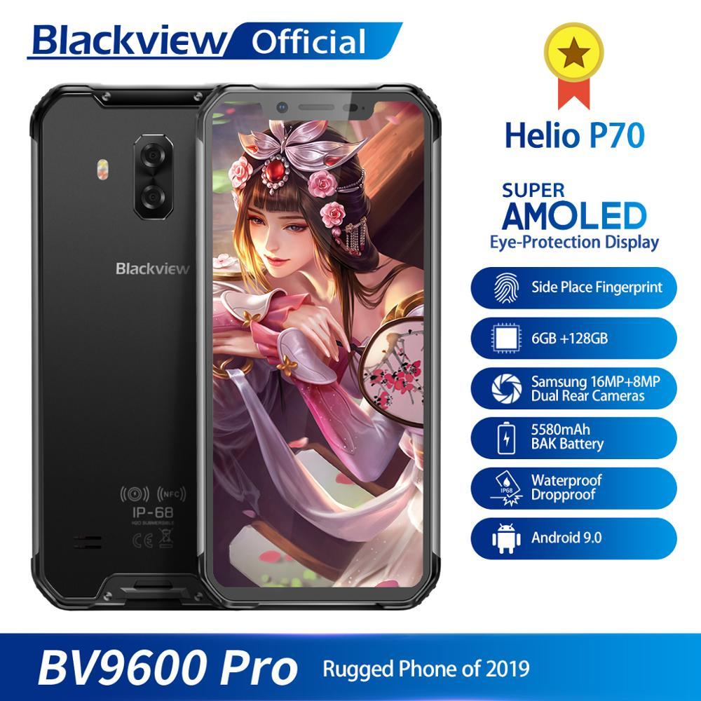 Blackview BV9600 PRO Smartphone 6.21″ 19:9 FHD Amoled Waterproof