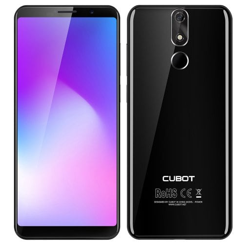 CUBOT POWER 4G Smartphone With High Resolution 5.99″ Screen, 128GB ROM