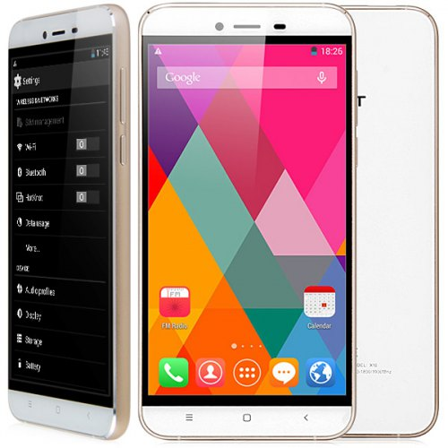 CUBOT X10 3G Smartphone, 2GB+16GB, 5.5 inch IPS Capacitive Screen