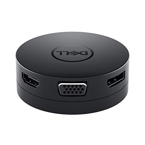 Dell USB-C Mobile Adapter Connect to 4K Displays at 60Hz Via DP or HDMI Port
