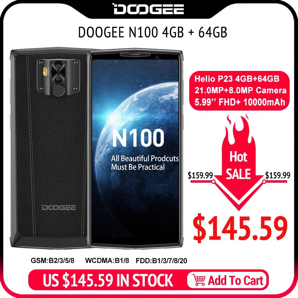 DOOGEE N100 5.9inch FHD Smartphone 64GB 10000mAh Battery