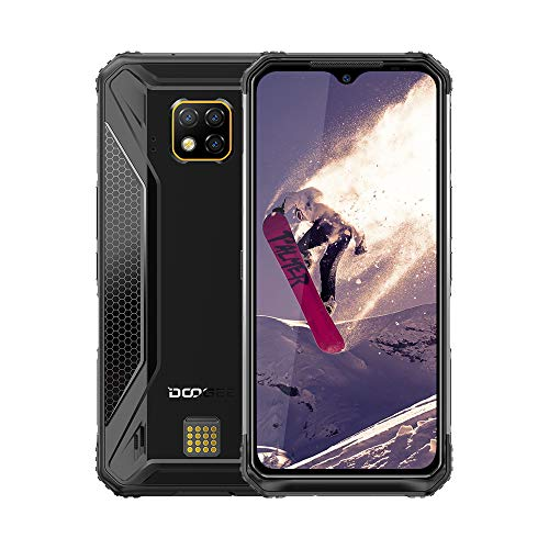 DOOGEE S95 Pro Waterproof Outdoor Smartphone 48MP Cam 128GB  Android 9