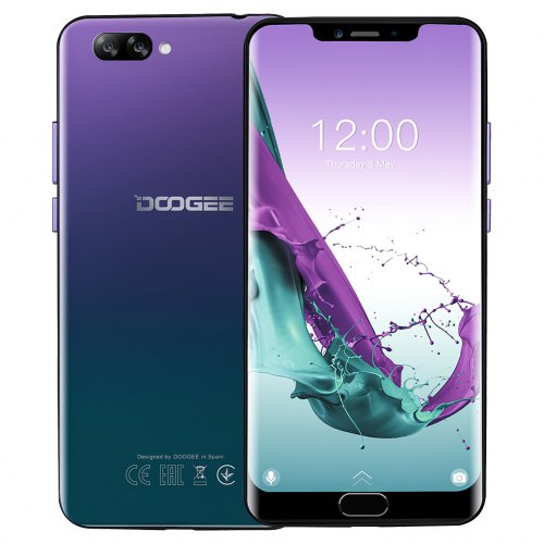Doogee Y7 Plus Android 8.1 Phone MT6757 Octa-Core 6GB 64GB
