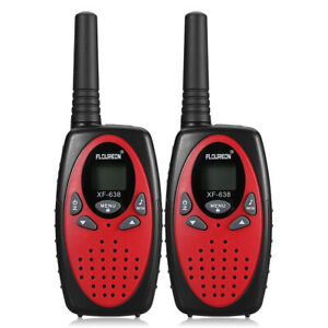FLOUREON 22 Channel Twin Walkie Talkies 462 To 467MHZ 3KM Outdoor