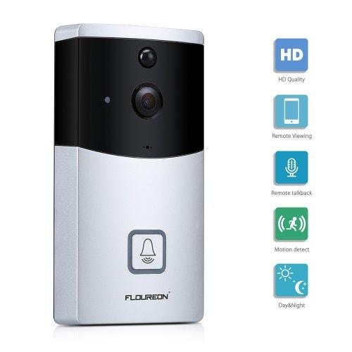 Flouren Video Doorbell Smart Home Security Camera