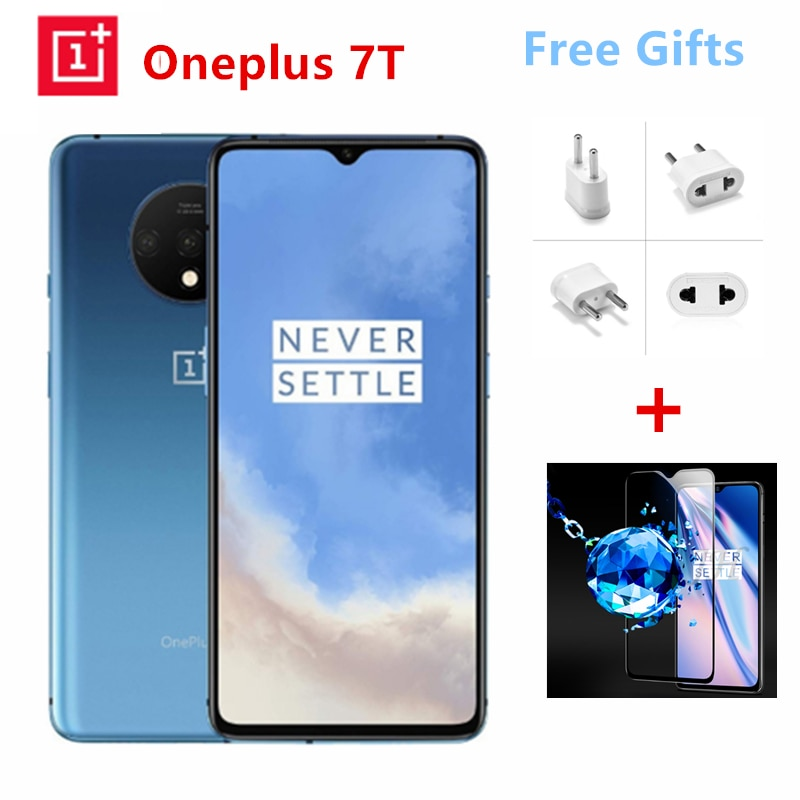 Oneplus 7T 4G Smartphone 6.55 inch 8GB RAM 256GB ROM 3800mAh Battery Global Version