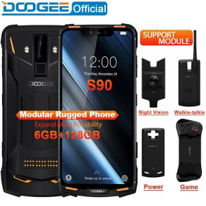 "DOOGEE S90 Modular Rugged 6.18"" Smartphone"