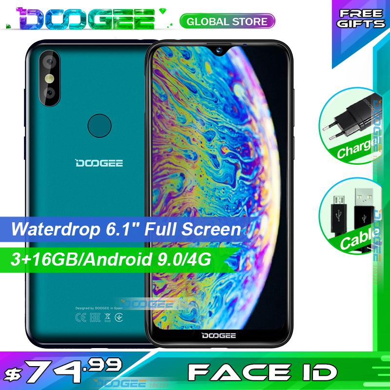 DOOGEE Y8 Plus Budget Phablet 6.21 inch RAM 32GB ROM 4000mAh Dual SIM