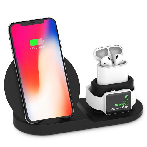Best Selling 3 in 1 Qi Wireless Charger