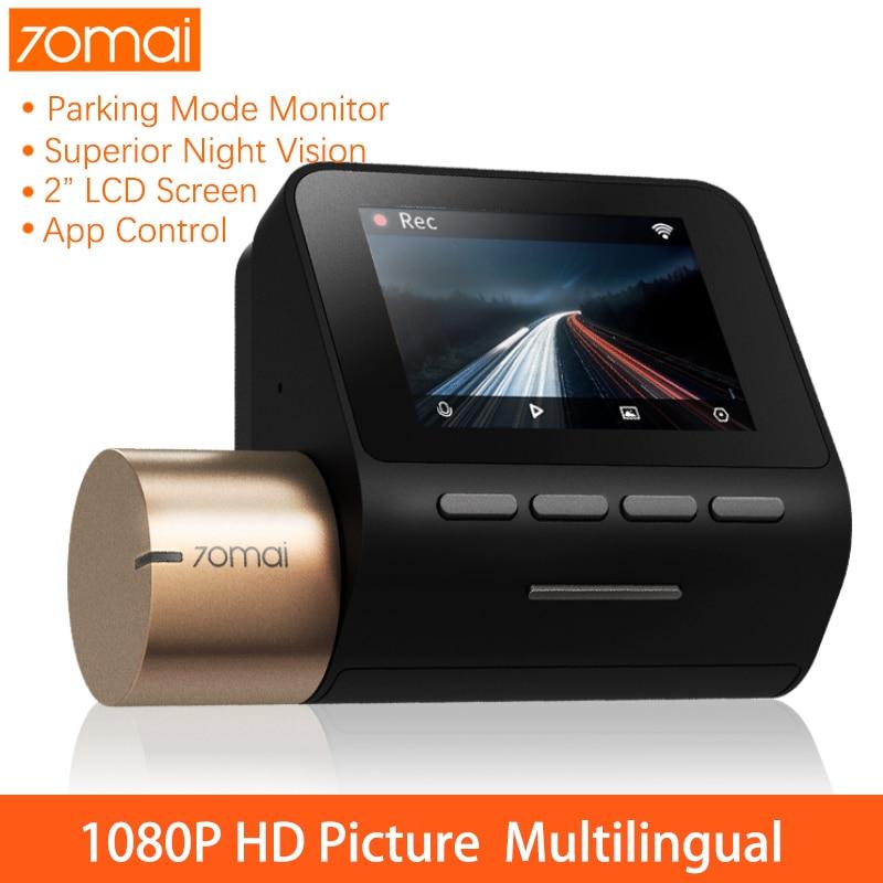 70mai Dash Cam English Voice Control Parking Monitor Night Vision WiFi Cam