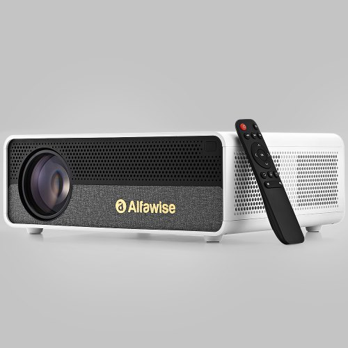 Alfawise Q9 Smart Projector FHD 4K High Brightness Home Theater